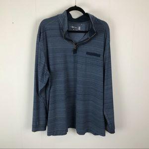 Walter Hagen mens blue long sleeve pullover 2XL